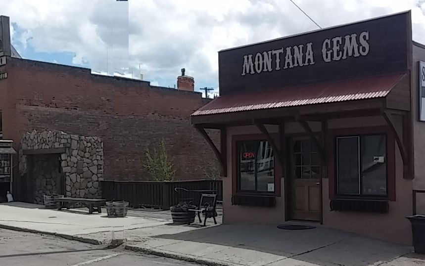 The Front of Montana Gems Retail Store
