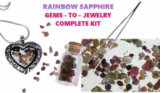 Rainbow Gems to Jewelry kit