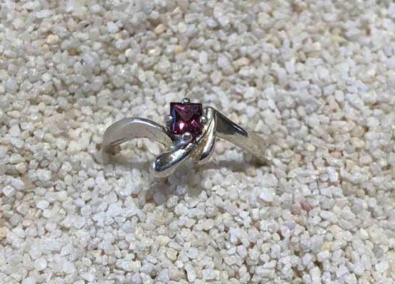 Idaho Garnet Ring