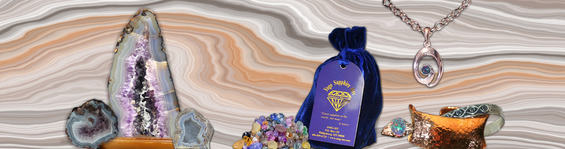 Geodes & Gems & Jewelry - Oh My