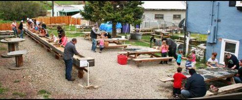 Montana Gems, Gem Water Flume, Fun gem yard