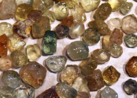 Rock Creek Sapphire Gravel